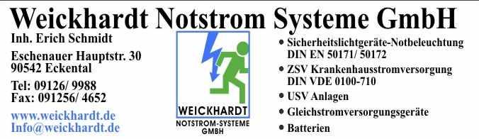 Weickhardt Notstrom Systeme GmbH